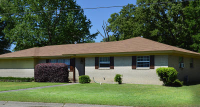 Hattiesburg MS Single Family Home For Sale: $120,000