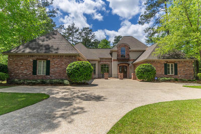Hattiesburg MS Single Family Home For Sale: $499,900