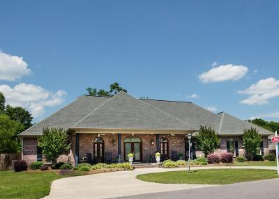 Hattiesburg MS Single Family Home For Sale: $629,000