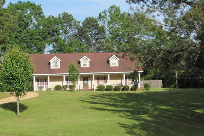 Sumrall Single Family Home For Sale: 124 Hickory Grove Church Rd.