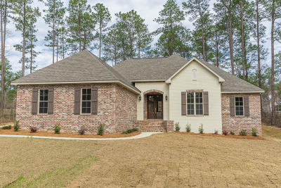 Hattiesburg Single Family Home For Sale: 34 Everglades