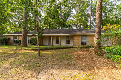 Hattiesburg MS Single Family Home For Sale: $126,000