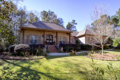 Hattiesburg Single Family Home For Sale: 1121 Lake Estates Drive North