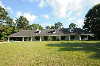 Sumrall Single Family Home For Sale: 155 Old Hwy 24