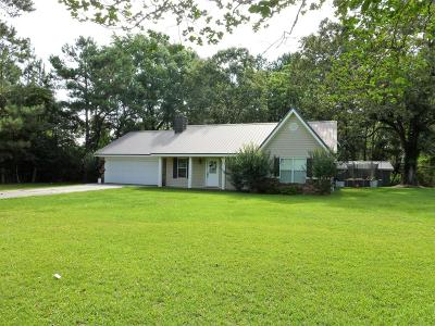 Sumrall Single Family Home For Sale: 4068 Rocky Branch Rd.