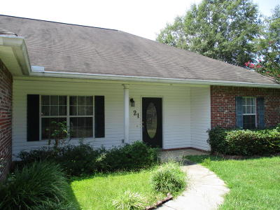 Sumrall Single Family Home For Sale: 21 Front St.