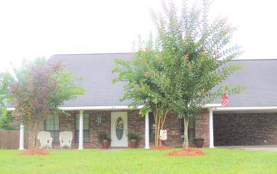 Petal, Purvis Single Family Home For Sale: 310 Bay
