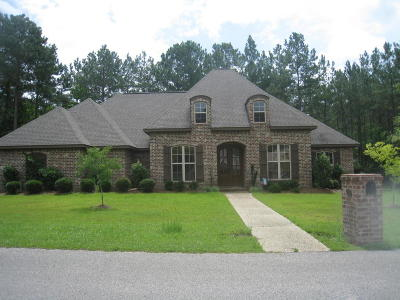 Sumrall Single Family Home For Sale: 23 Magnolia Crossing