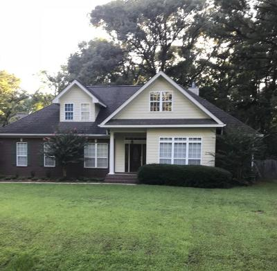 Hattiesburg Single Family Home For Sale: 7 Stonewall