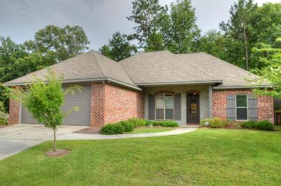 Sumrall Single Family Home For Sale: 39 Tuscan Lane