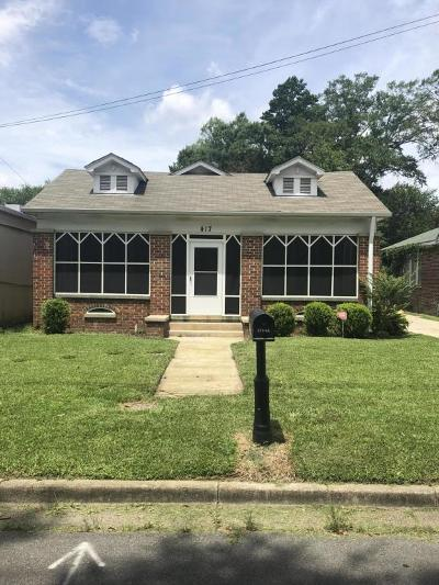 Hattiesburg Single Family Home For Sale: 417 S 11th