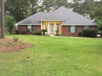 Hattiesburg Single Family Home For Sale: 122 Pine Ln.