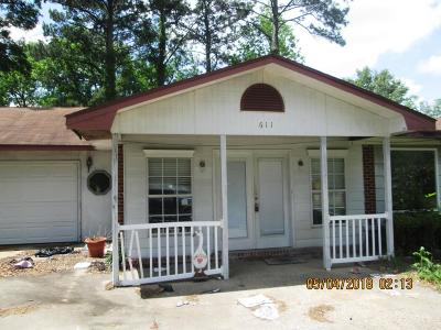 Hattiesburg Single Family Home For Sale: 611 Highland Ave.