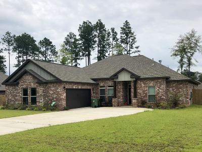 Hattiesburg Single Family Home For Sale: 37 E Yellowstone