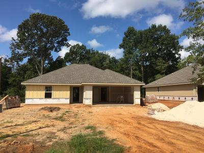 Purvis Single Family Home For Sale: 33 Logaras Cir.