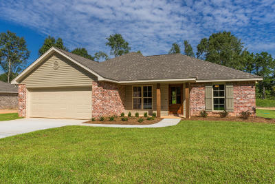 Petal, Purvis Single Family Home For Sale: 82 Lost Orchard Dr.