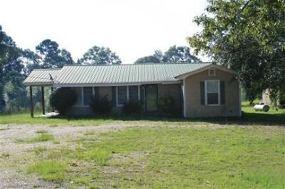 Seminary, Sumrall Single Family Home For Sale: 724 Hickory Grove Rd