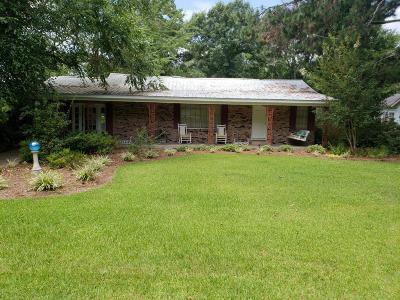 Jefferson Davis County Single Family Home For Sale: 73 Carraway Ave.