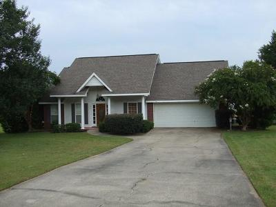 Purvis Single Family Home For Sale: 11 Meadow Ridge
