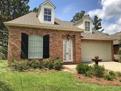 Hattiesburg Single Family Home For Sale: 5 Golf Club Rd.
