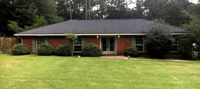 Hattiesburg Single Family Home For Sale: 1014 Lake Estates