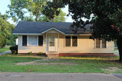 Hattiesburg MS Single Family Home For Sale: $93,000