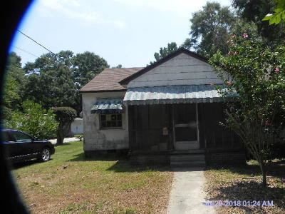 Hattiesburg MS Single Family Home For Sale: $27,900