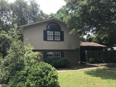 Hattiesburg MS Single Family Home For Sale: $140,000