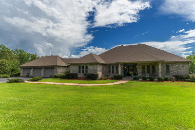 Petal, Purvis Single Family Home For Sale: 600 Tatum Camp Rd.