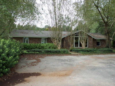 Petal, Purvis Single Family Home For Sale: 1067 Purvis To Columbia Rd.