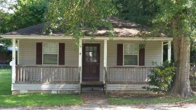 Seminary, Sumrall Single Family Home For Sale: 4 Gulf Ave.