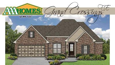 Sumrall Single Family Home For Sale: 18 Magnolia Crossing