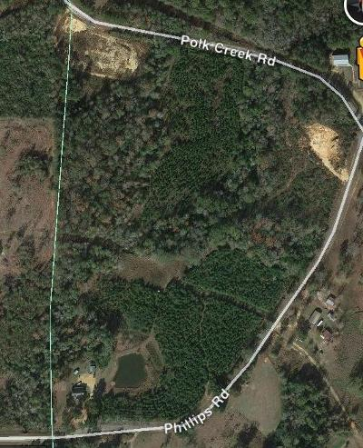 Sumrall Residential Lots & Land For Sale: Phillips Rd.