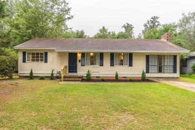 Hattiesburg MS Single Family Home For Sale: $85,000