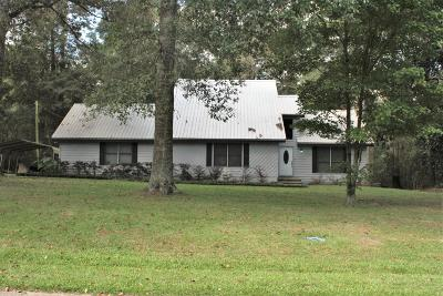 Hattiesburg MS Single Family Home For Sale: $184,900