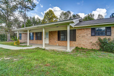 Seminary, Sumrall Single Family Home For Sale: 124 Bounds Rd.