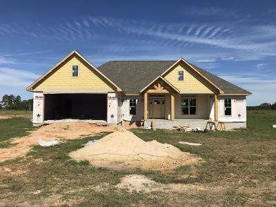 Purvis Single Family Home For Sale: 1066 Purvis-Columbia Rd.