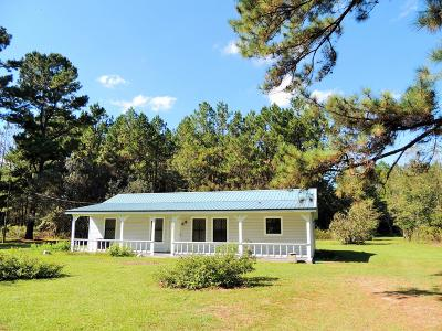 Purvis Single Family Home For Sale: 73 Tatum Camp Rd.
