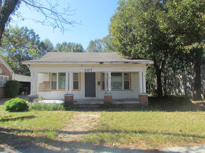 Hattiesburg Single Family Home For Sale: 101 S 14th Ave.