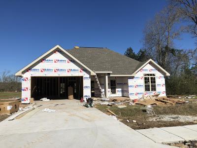 Single Family Home For Sale: lot 46 Coastal Oak