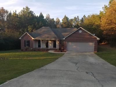 Sumrall Single Family Home For Sale: 9 Pleasant Hill