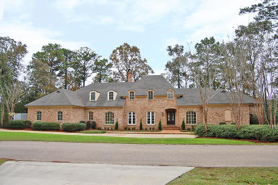 Hattiesburg MS Single Family Home For Sale: $689,500
