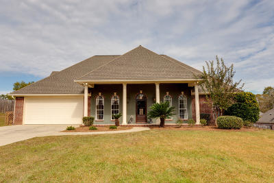 Hattiesburg Single Family Home For Sale: 120 Morrell Cir.