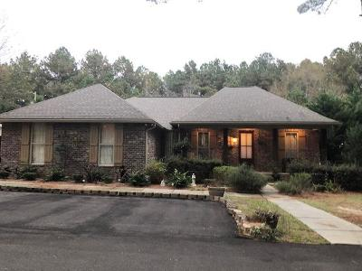 Hattiesburg MS Single Family Home For Sale: $270,500