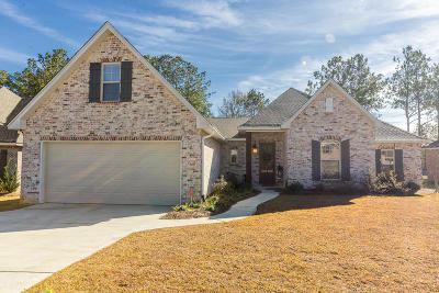 Hattiesburg MS Single Family Home For Sale: $309,900