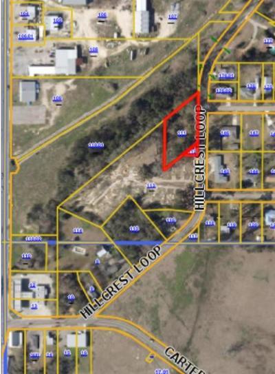 Petal Residential Lots & Land For Sale: 121 Hillcrest Loop