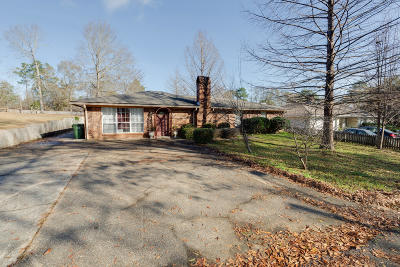Hattiesburg Single Family Home For Sale: 3203 Hillside Dr.