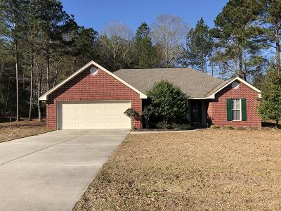Purvis Single Family Home For Sale: 283 Lost Orchard