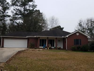 Purvis Single Family Home For Sale: 7 Heritage Dr.