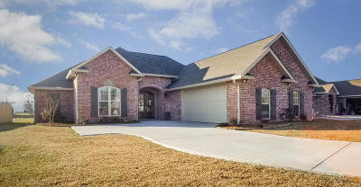 Petal Single Family Home For Sale: 19 Sunline